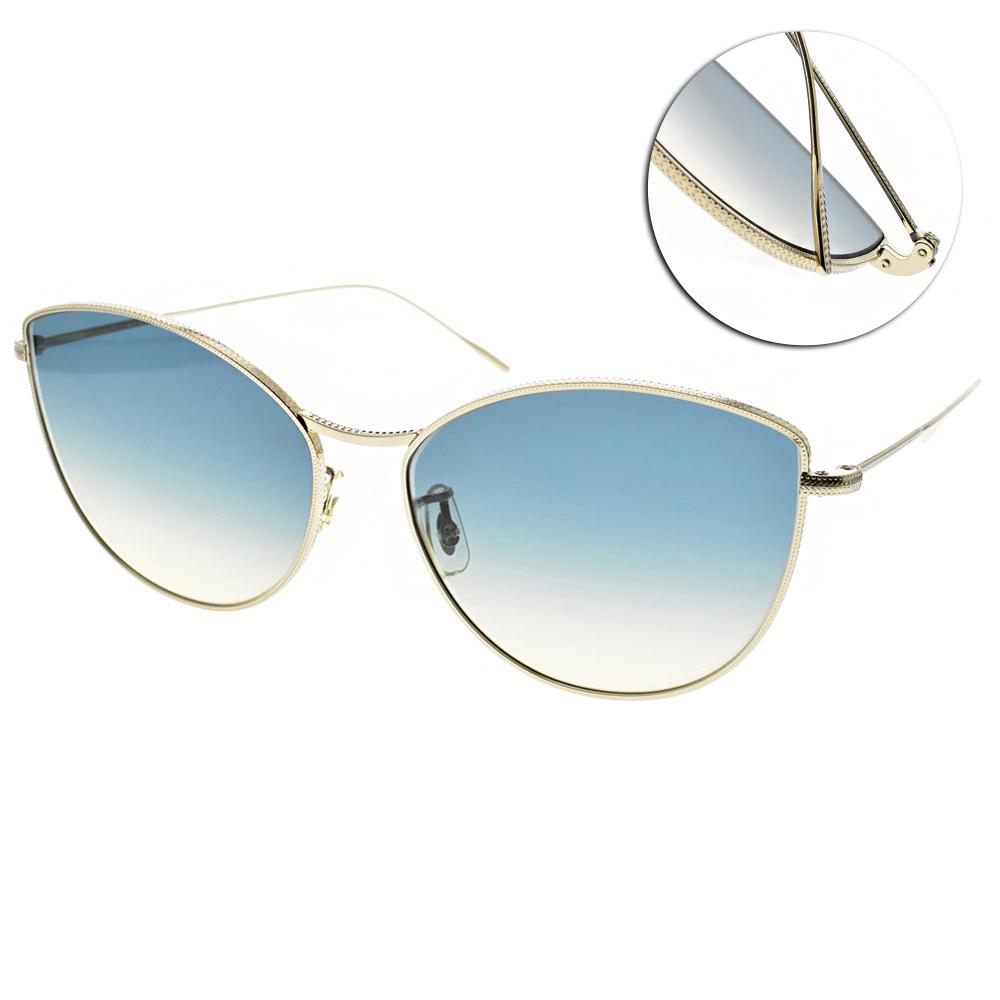 OLIVER PEOPLES太陽眼鏡 熱銷方框/金 #RAYETTE 503575