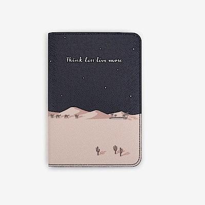 Dailylike 美好生活皮革護照套-12 星月沙漠