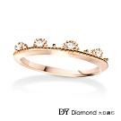 DY Diamond 大亞鑽石 L.Y.A輕珠寶 18K玫瑰金 永恆 鑽石線戒