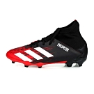 ADIDAS 兒童足球鞋 PREDATOR 20.3 FG J 黑紅白
