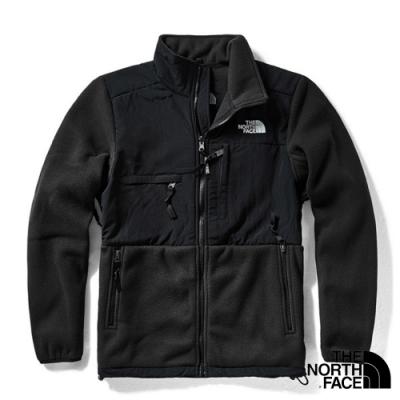 The North Face ICON 熱賣款_經典耐磨排汗透氣保暖刷毛外套夾克_黑