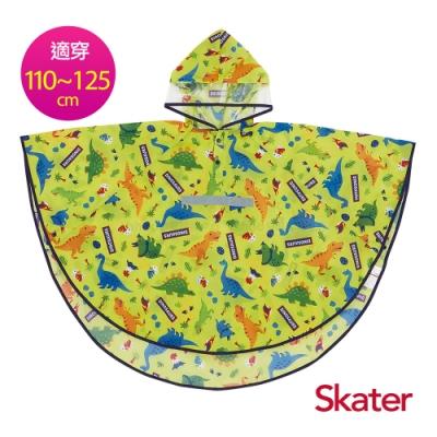 Skater幼童斗篷雨衣-恐龍(綠)