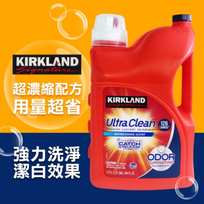Kirkland Signature 科克蘭 超濃縮清新香洗衣精(5.73L)