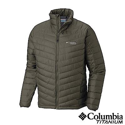 Columbia 哥倫比亞 男款-Omni-HEAT3D保暖外套-綠UWE08740