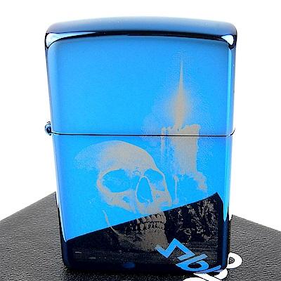 ZIPPO 美系 Skull Design 骷髏圖案照片成像加工打火機