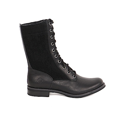 Timberland 女款黑色皮革Magby中筒拉鍊靴   A1GZK001