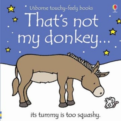 That s Not My Donkey 那不是我的小驢子觸摸書