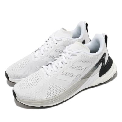 adidas 慢跑鞋 Response Super 運動 男鞋 愛迪達 輕量 透氣 舒適 避震 路跑 白 黑 FX4830