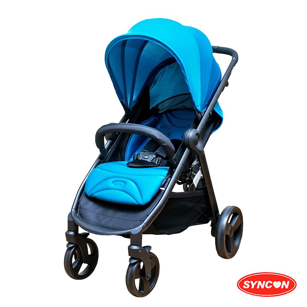 SYNCON 時尚風格嬰兒手推車 綠松色 @ Y!購物