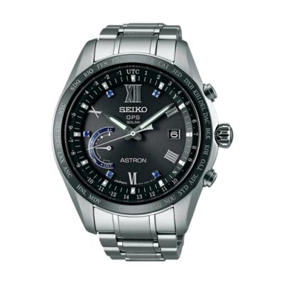 SEIKO精工 ASTRON GPS金屬腕錶-藍(8X22-0AH0D/SSE117J1)