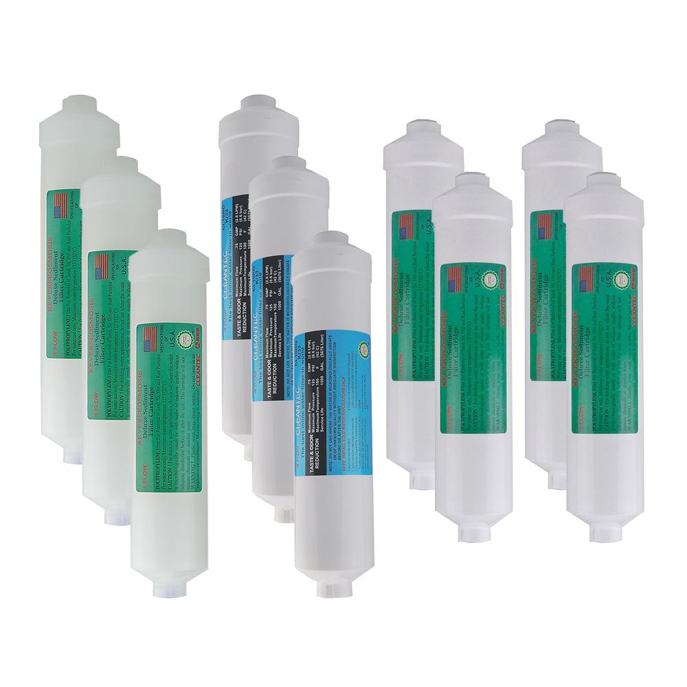 豪星飲水機KT型1-3道前置濾心1年份10支組