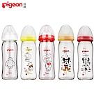 【任選】日本《Pigeon 貝親》迪士尼寬口玻璃奶瓶【240ml】