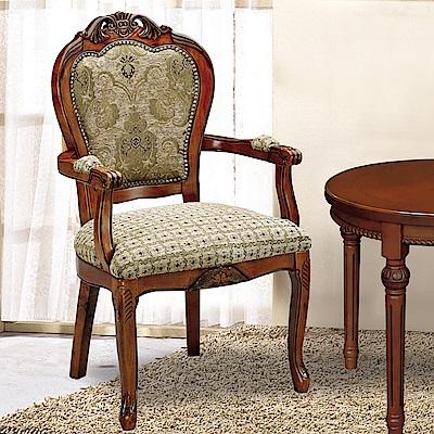 AS-席夢娜胡桃色房間椅-63x63x106cm