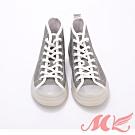 MK-時尚亮片防水綁帶有型雨鞋