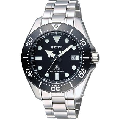 SEIKO Prospex 專業運動系列200M鈦金屬潛水錶(SBDJ013J)黑/44m