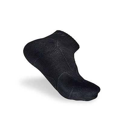 【Titan】太肯功能慢跑襪2_黑色_3雙 (適合馬拉松、健走、慢跑)