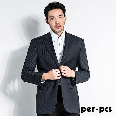 per-pcs 商務沉穩條紋西裝外套(707318)