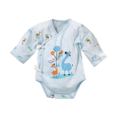 魔法Baby 台灣製薄款純棉護手連身衣 b0275