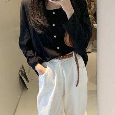 韓國空運 透膚防曬罩衫-4色-TMH