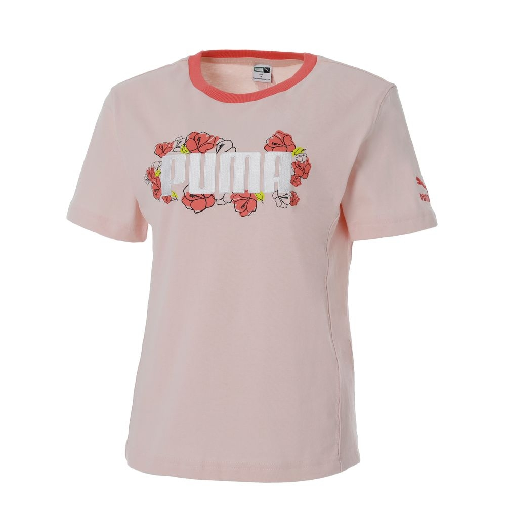 【PUMA官方旗艦】流行系列Floral短袖T恤 女性 53204227