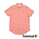 Timberland 男款紗染石榴紅襯衫 | A1UMHJ24