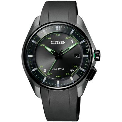 CITIZEN 藍芽光動能鈦金屬限量腕錶(BZ4005-03E)