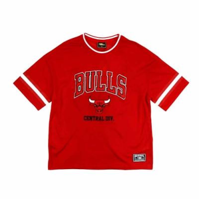 NBA Style C&S 球衣材質 短袖T恤 公牛隊
