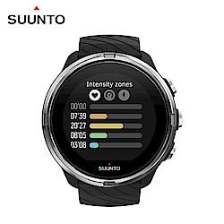 SUUNTO 9 堅固強勁 超長電池續航力的多項目運動GPS腕錶 (經典黑)