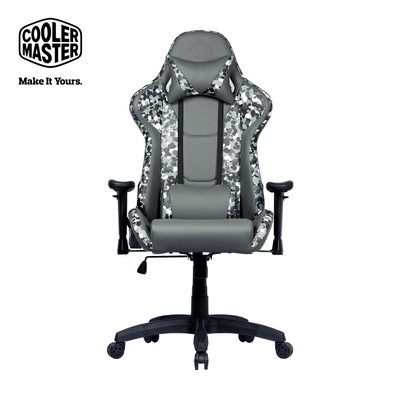 Cooler Master Caliber R1S Camo 電競椅 迷彩灰