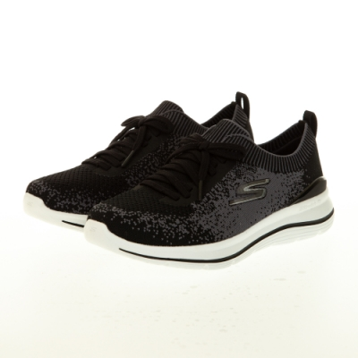 SKECHERS 女健走系列 GOWALK STRETCH FIT - 124384WBKW