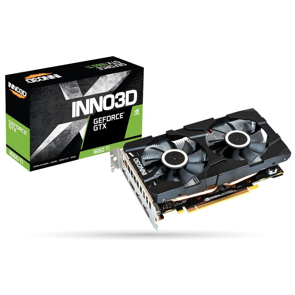 INNO3D映眾 GeForce GTX1660TI 6GB GDDR6 TWINX2 顯示卡