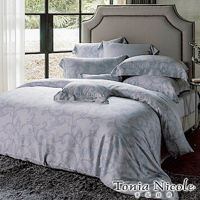 Tonia Nicole東妮寢飾 羅馬古都環保印染100%萊賽爾天絲被套床包組(雙人)