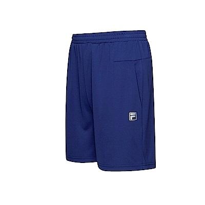 FILA 男款抗UV吸濕排汗針織短褲-藍紫 1SHT-1306-DB