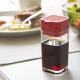 日本【YAMAZAKI】 AQUA可調控醬油罐-紅 product thumbnail 1