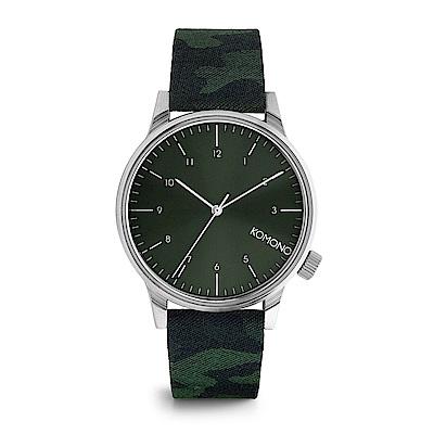KOMONO Winston Print 腕錶-叢林迷彩/41mm