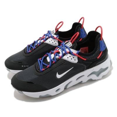 Nike 休閒鞋 React Live 運動 男鞋 輕量 透氣 舒適 避震 球鞋 穿搭 黑 藍 CV1772001