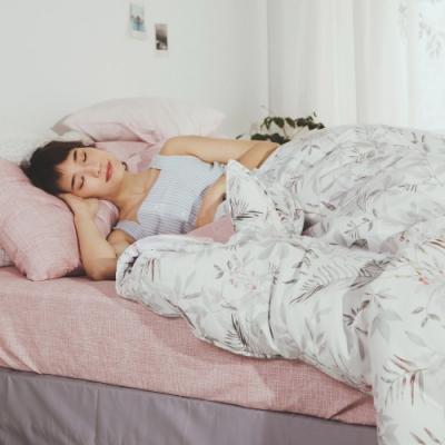 絲薇諾 MIT精梳純棉  戀人之境  雙人加大6尺-床包鋪棉被套四件組