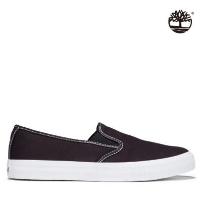 Timberland 女款黑色Skyla Bay帆布便鞋|A2FP7