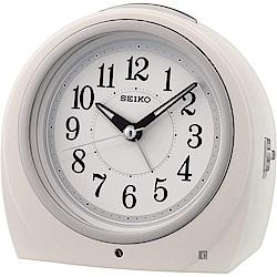 SEIKO 精工 Clocks 滑動式秒針小閙鐘-QHE164W