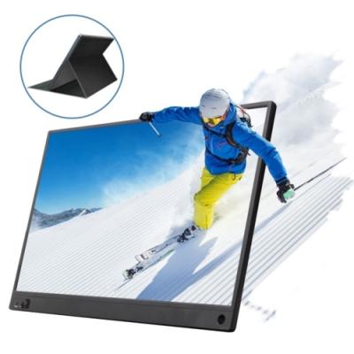 IS愛思 PLAYTV-M 15.6吋無線同屏可攜式液晶螢幕 附可立式螢幕支架皮套