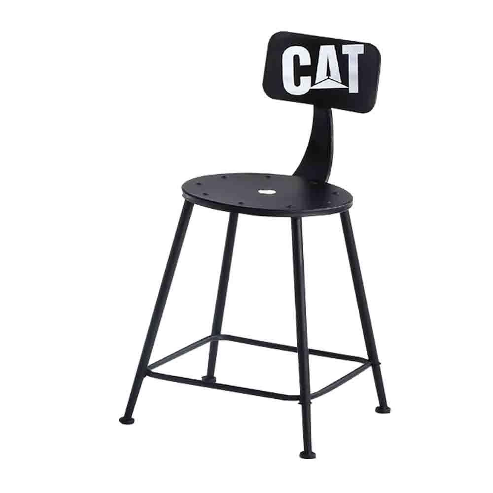 Boden-范特塗鴉鐵腳吧台椅/高腳椅(二色可選)-34x44x75cm product image 1