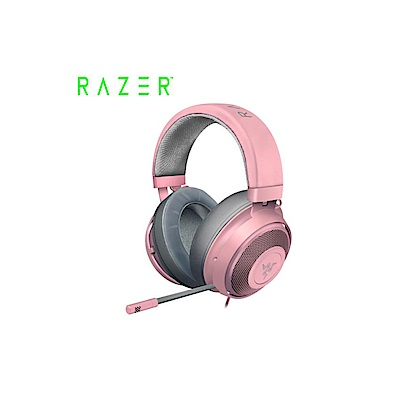 雷蛇Razer北海巨妖粉晶版 電競耳機麥克風(RZ04-02830300-R3M1)