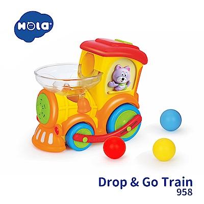 香港HOLA幼兒聲光玩具-嘟嘟小火車 958