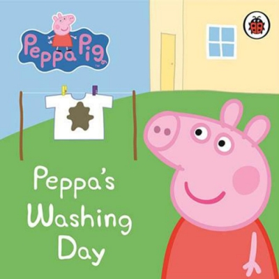 Peppa Pig:Peppa s Washing Day 佩佩豬洗衣服精裝硬頁書