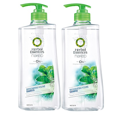 Herbal Essence 草本精華 西柚薄荷活力豐盈洗髮露750ml x2