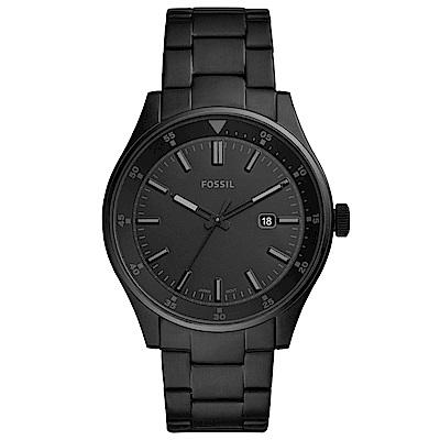 FOSSIL Belmar 簡約時尚手錶(FS5531)-黑/44mm