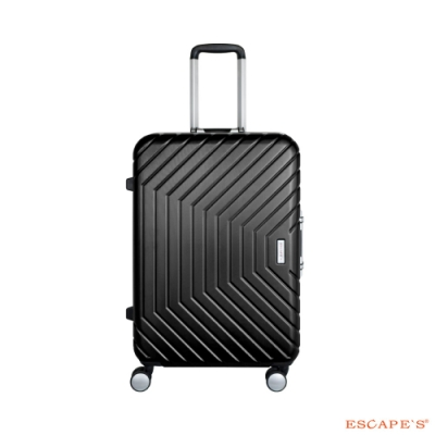 ESCAPES JAW-3594 25吋 鋁框旅行箱 鐵灰色-網
