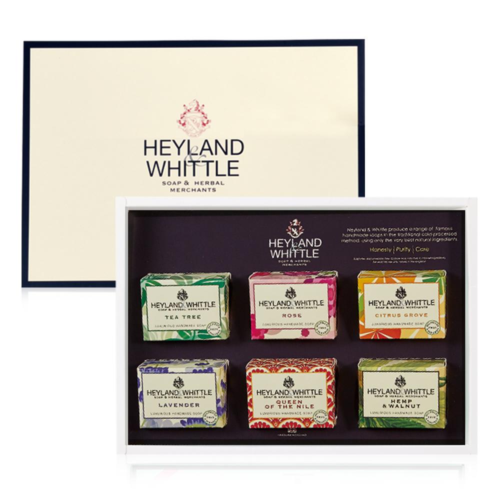 H&W英倫薇朵 英倫經典手工皂禮盒