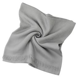 GUCCI 經典G LOGO造型圍巾/披肩(淺灰)