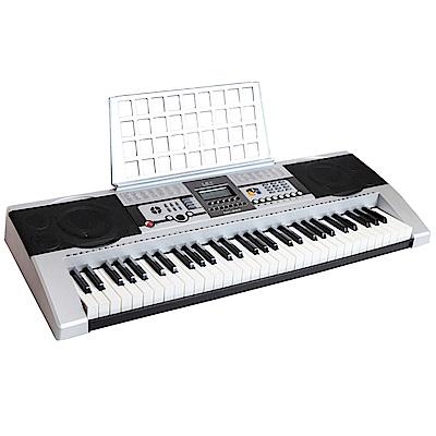 JAZZY 台灣品牌公司貨 61鍵 國際標準厚鍵 電子琴 可攜式 原廠保固 限量贈送琴袋、X型七段高低琴架(JZ-612)